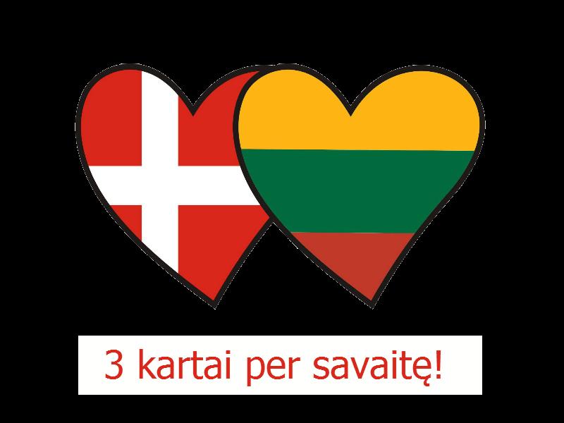 Vežame Lietuva-Danija ir Danija-Lietuva, užsukame į Kopenhagą